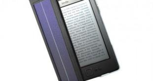 SolarFocus встраивает солнечную батарею, аккумулятор и лампу в обложку для Amazon Kindle