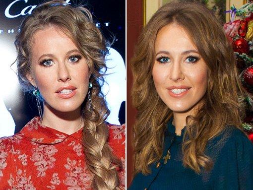 Ксения Собчак изменила цвет волос