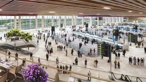 Китайські аеропорти переходять на самообслуговування аби впоратися з потоком пасажирів