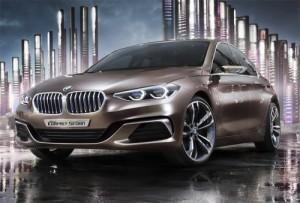 BMW показала концепцію Compact Седан