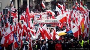 Поляки протестують проти Конституційного трибуналу