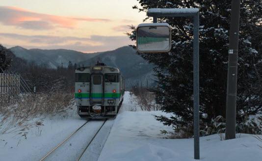 В Японии работает железнодорожная станция ради одной школьницы