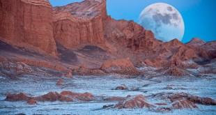 пустыня атакама лунная долина