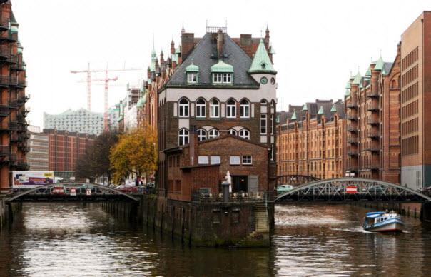 старинный Гамбург
