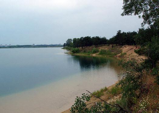 Голубые озера Днепр область