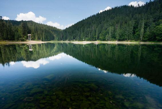 Озеро Синевир можно посещать туристам круглый 2016 год