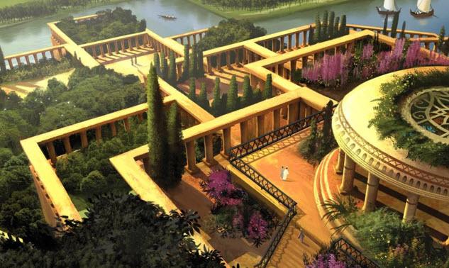 Висячие сады Семирамиды: мифы и реальность