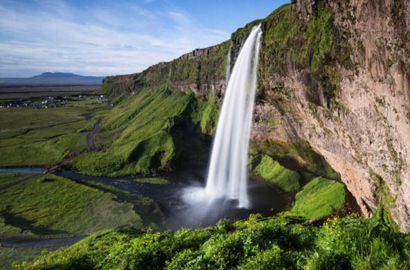 Фото водопадов