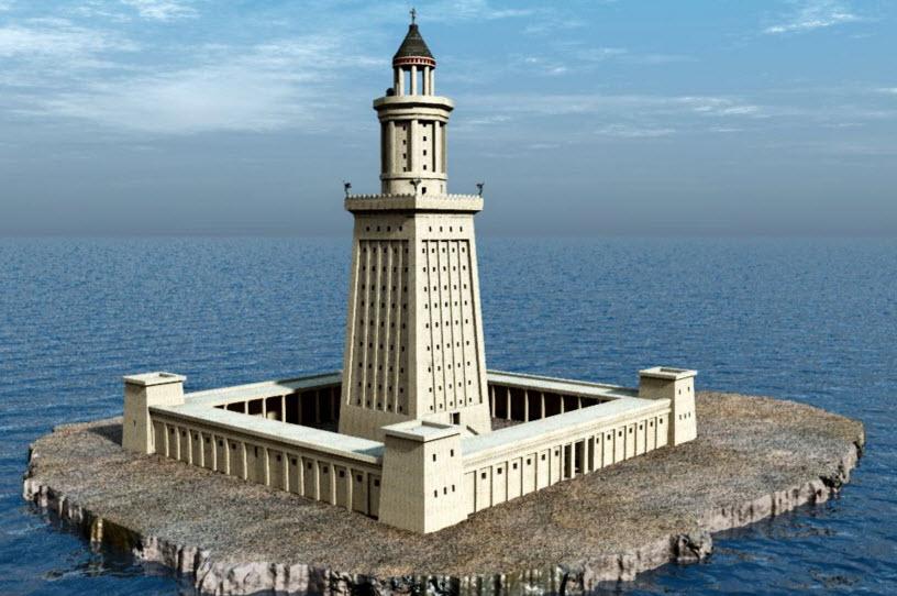 Александрийский маяк Седьмое чудо света