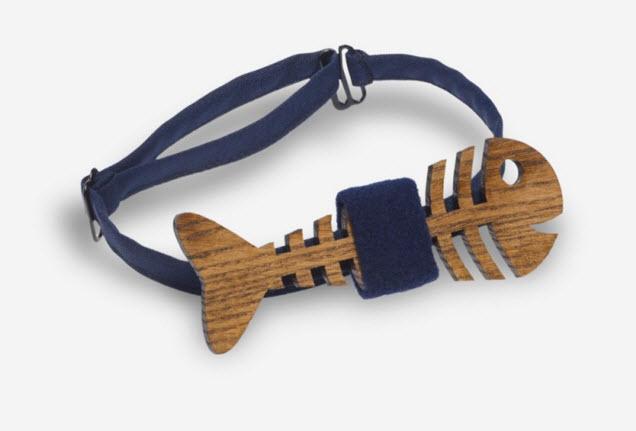 Модный аксессуар в виде деревянной бабочки подойдёт к любому костюму