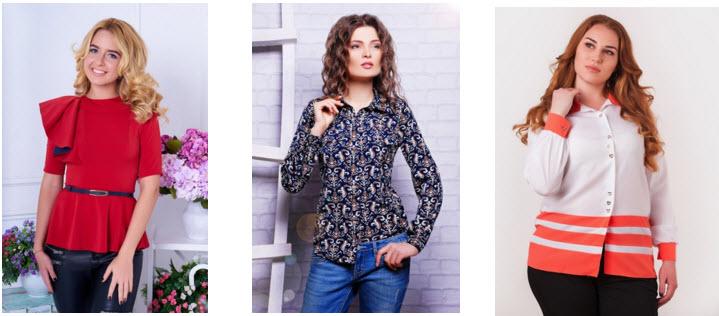 Модная женская рубашка украсит каждую женщину
