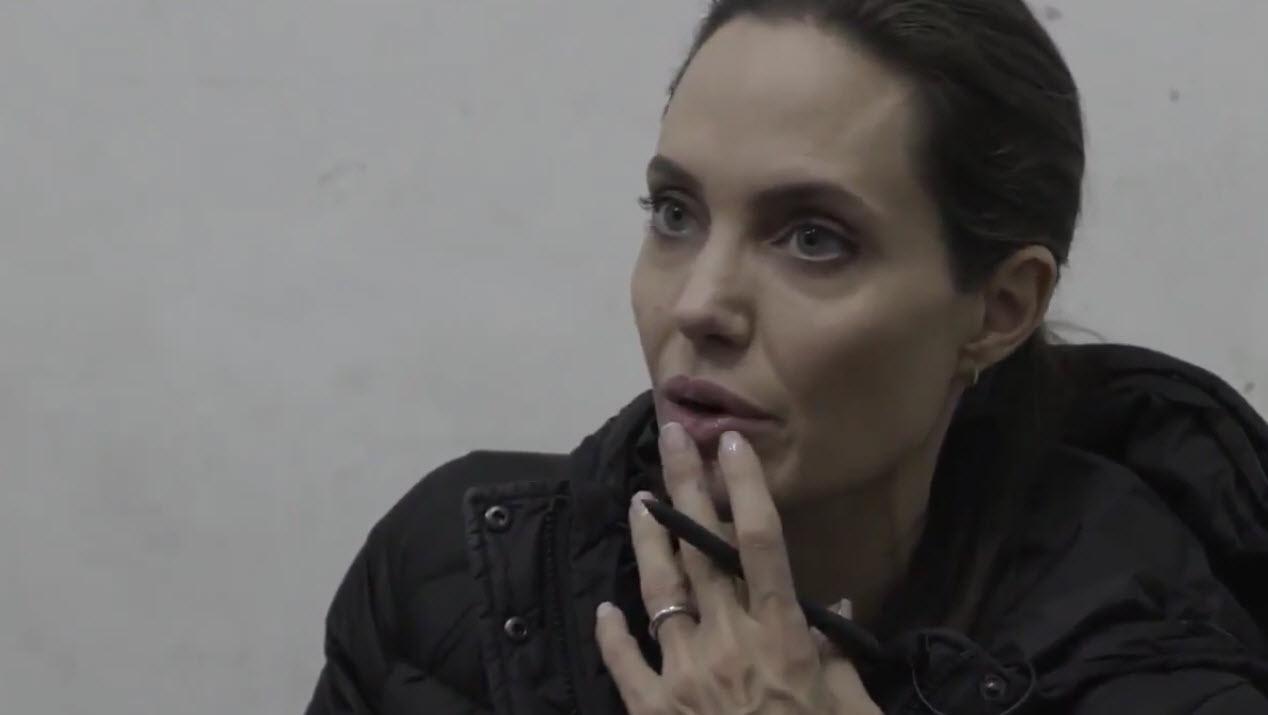 Анджелина Джоли фото 2016 сирия