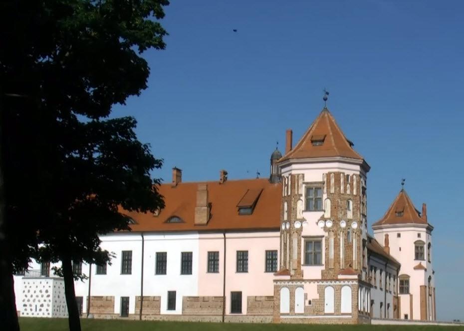 Фото Мирський Замок Білорусь