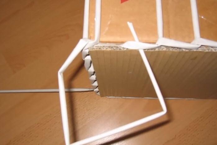 Плетение корзин из газетных трубочек для начинающих пошагово фото
