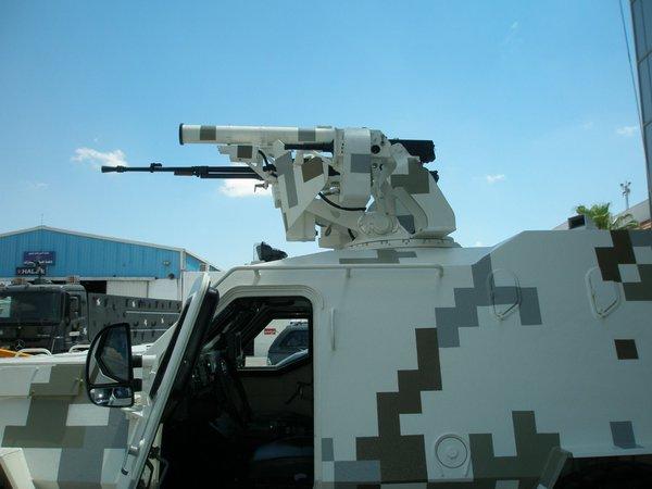 пулеметно-гранатометный модуль с системой Каштан