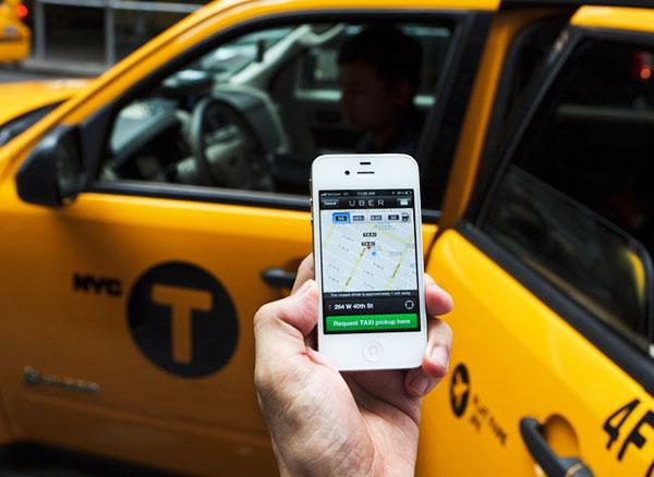Сервис поиска такси Uber теперь и в Киеве