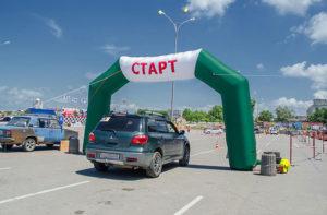 Соревнования по фигурному вождению «Автоледи-2016» Севастополь