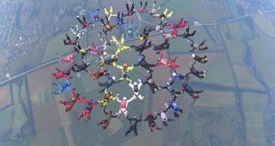 Парашютисты из Украины поставили новый рекорд