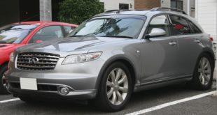 Infiniti FX45 тест-драйв автомобиля
