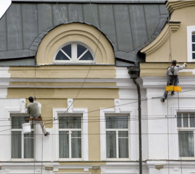 Решительно новый шаг в области ремонта фасадов зданий