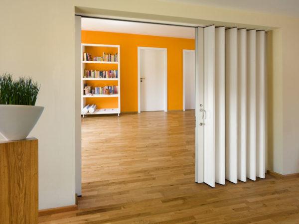 Для какой комнаты предназначены двери-гармошки