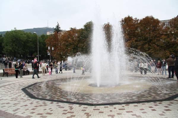 Дизайн города - фонтаны