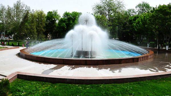 Обустройство территории города - фонтаны