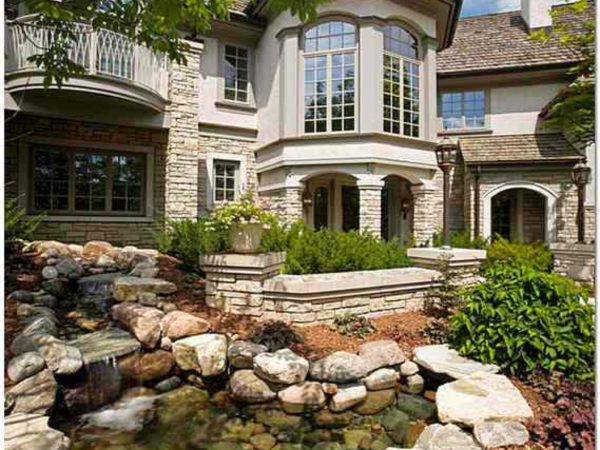 Какой цемент используют для облицовки дома камнем