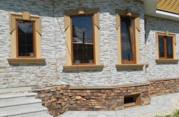 Как крепить искусственный камень на деревянную поверхность
