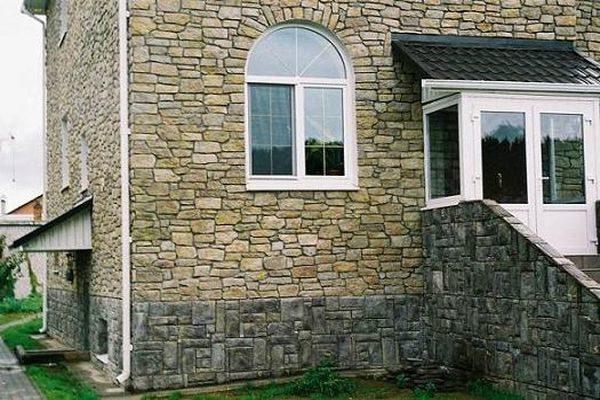 Виды искусственного облицовочного камня