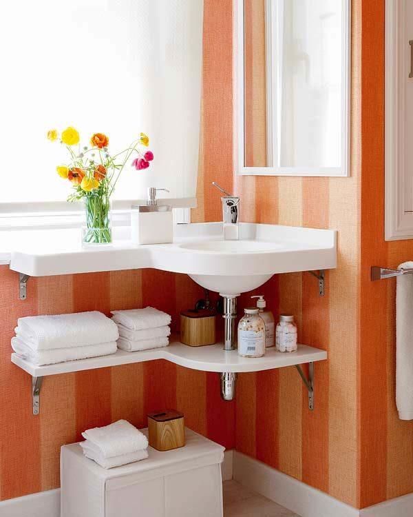 Полезные детали в ванной комнате