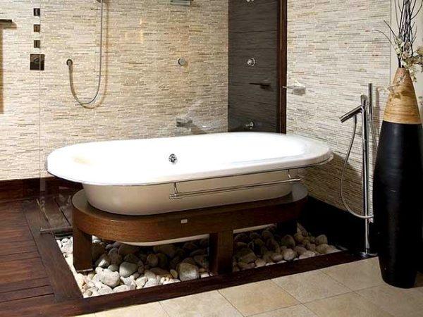 Полы в ванной комнате