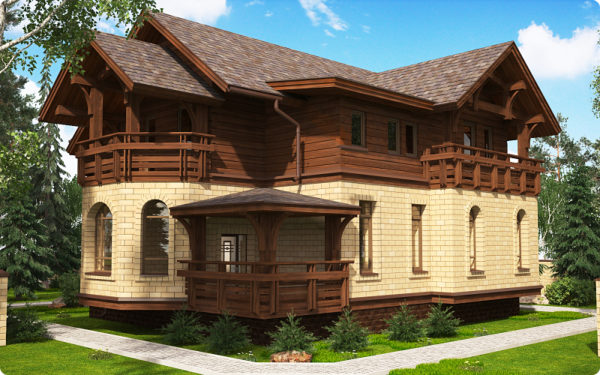 Преимущества домов из кедра