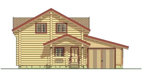 Разновидности проектов деревянных домов