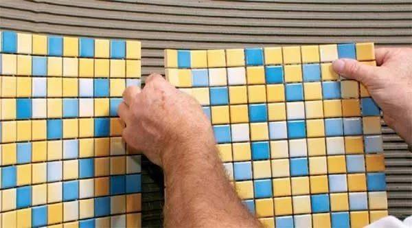 Выбираем цвет затирки для мозаики