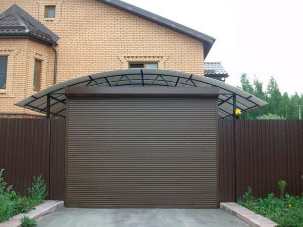 Роллетные ворота для домов