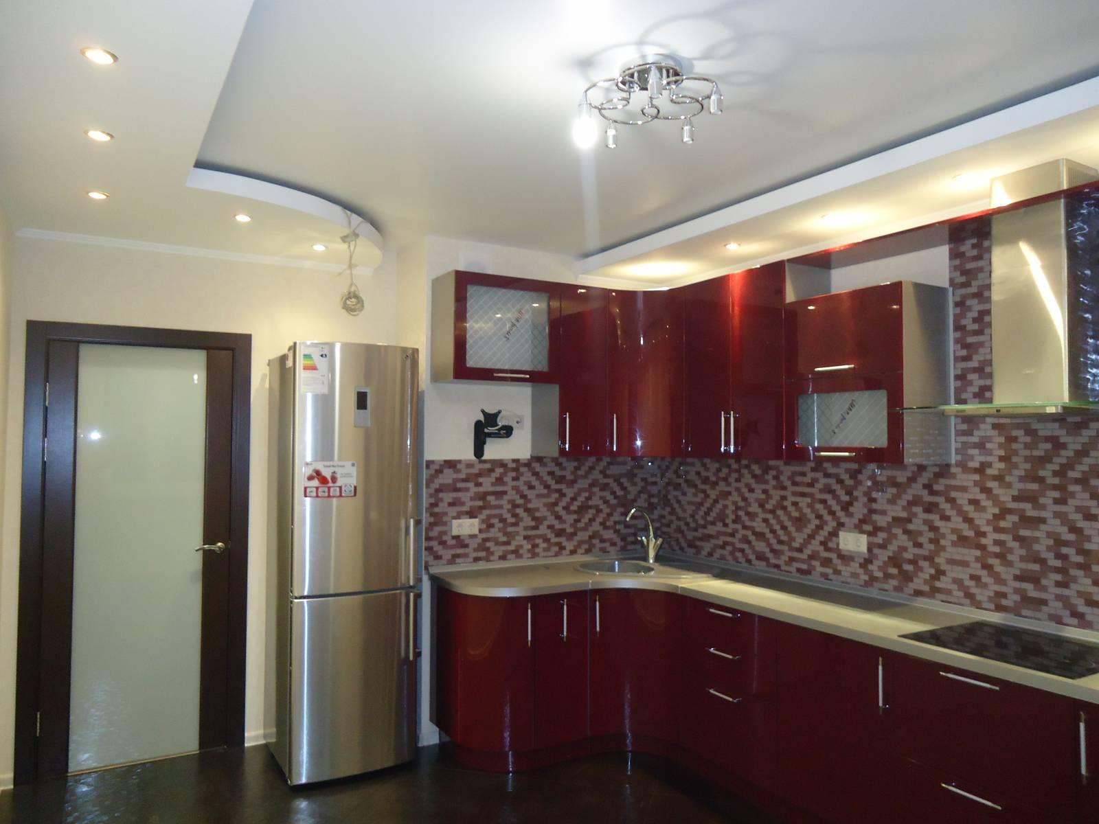 Кухня ремонт потолка своими руками фото
