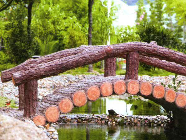 Делаем сами мостик на загородном участке