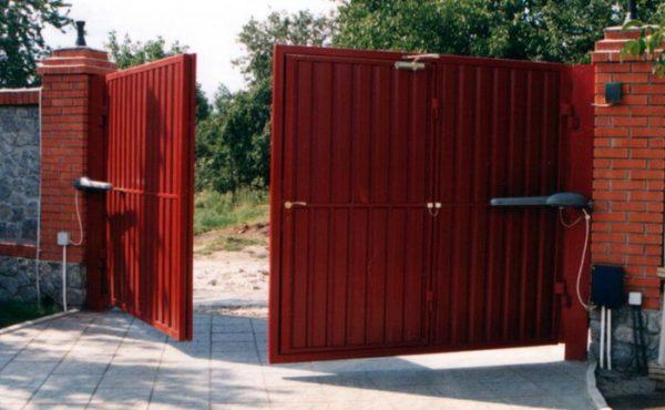 Автоматические ворота для дома