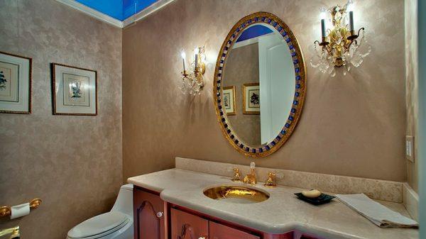 Декоративная штукатурка в ванной