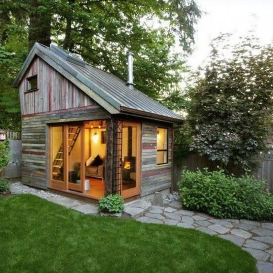 Функциональность готовых летних домиков