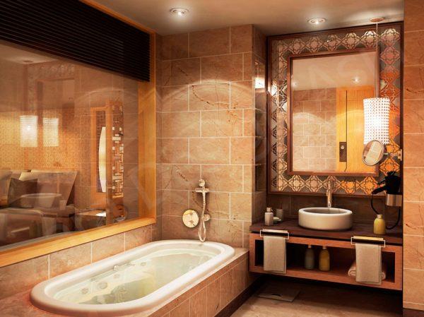 Штукатурка или гипсокартон в ванной