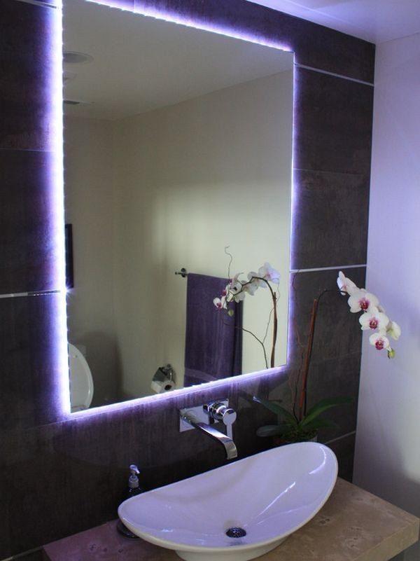 Как размещать осветительные приборы в ванной