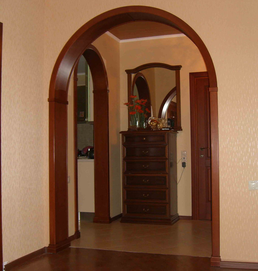Как сделать арку в дверном проёме фото