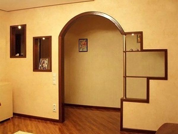 Арочный дверной проем