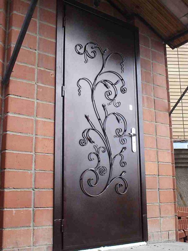 Изготовление кованых дверей