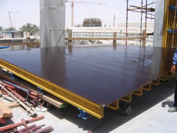 Ламинированная фанера в строительстве