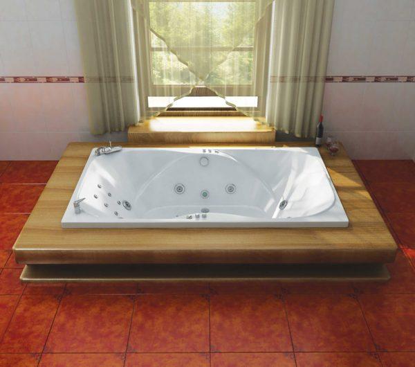 Гидромассажные ванны из акрила