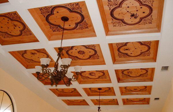 Обработка потолка под потолочную плитку