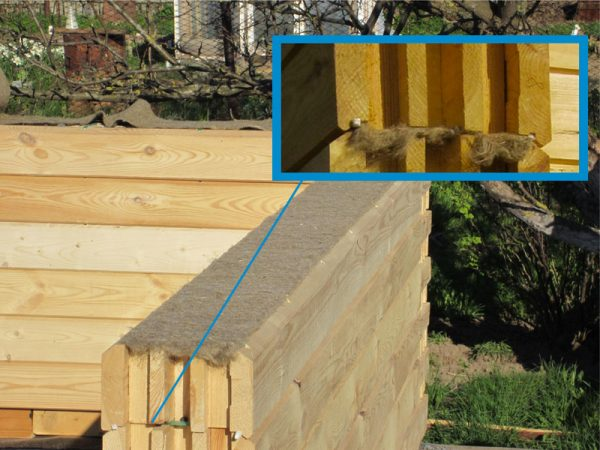 Профилированные брусья для постройки дома
